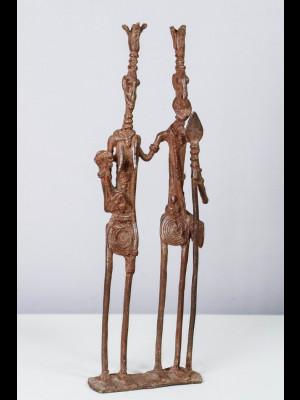 Couple d'ancêtres dogon (Mali)