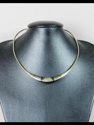 Tour de cou métal argenté