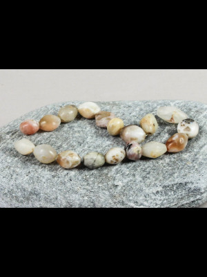 18 perles de fouille en agate (Mali)