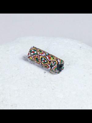 Rare et magnifique perle millefiori vénitienne ancienne
