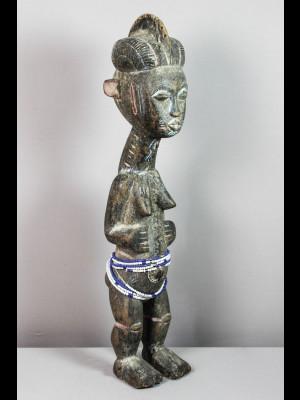 Statue koulango (Côte d'Ivoire).
