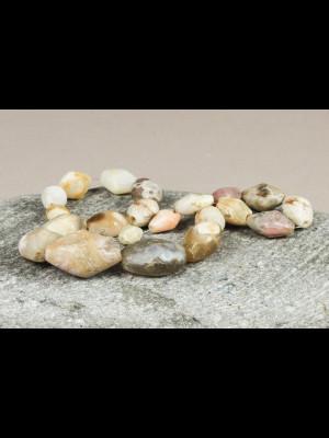 21 perles très anciennes en agate