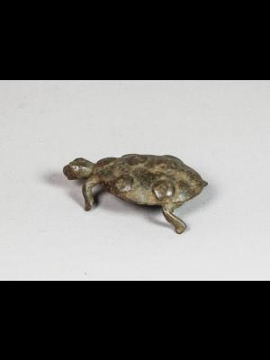 Petite tortue en bronze
