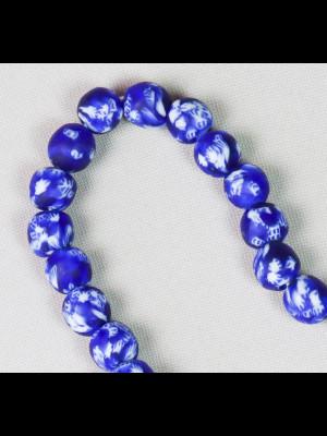 47 perles du Ghana en verre