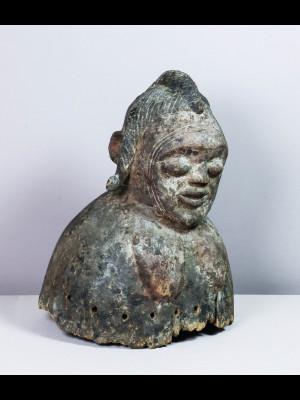 Exceptionnel casque mossi (Burkina Faso)