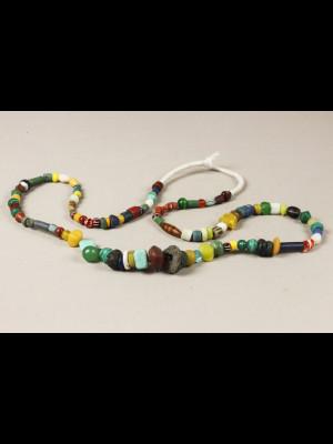 98 perles de troc avec l'Afrique (Mali)