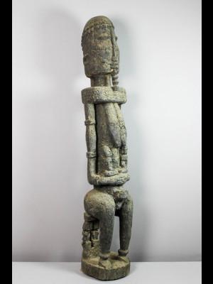 Exceptionnelle statue dogon (Mali)