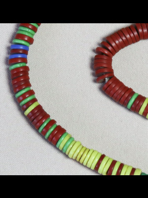 268 perles de troc anciennes en verre