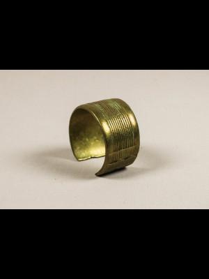 Bracelet ancien en alliage cuivreux
