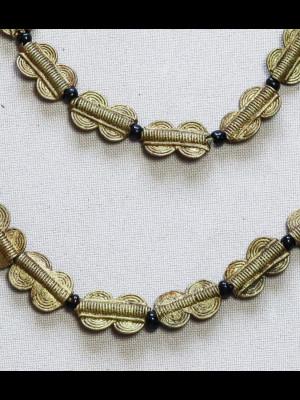30 perles en laiton