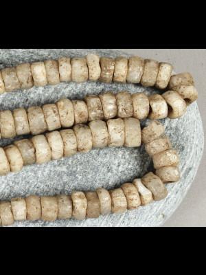 89 perles de fouille en quartz du Mali