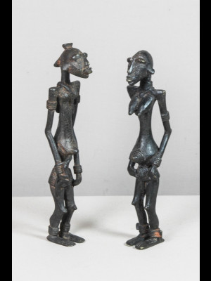 Couple d'ancêtres dogons (Mali)