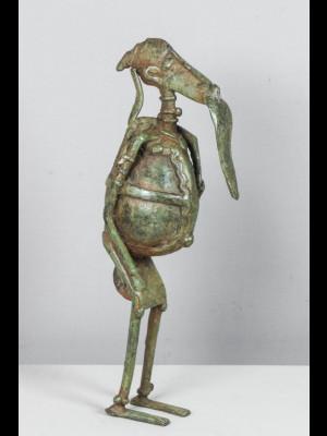 Chasseur dogon (bronze du Mali)