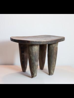 Cavalier dogon en bronze (Mali)