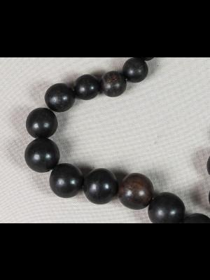 30 perles en bois