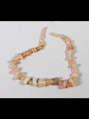 50 perles de fouille en cristal de roche