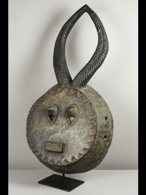Grand masque kple kple baoulé (Côte d'Ivoire)