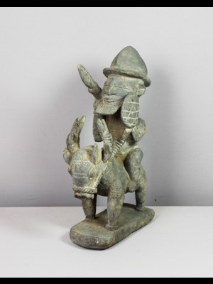Étonnant cavalier dogon (Mali)