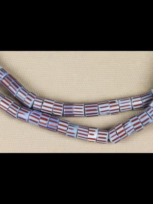 149 perles chevrons « Awale » de Venise
