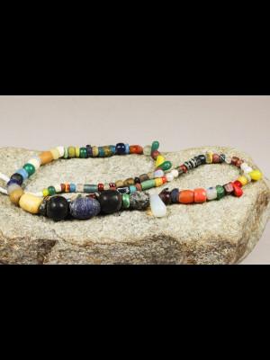 100 perles de troc avec l'Afrique (Mali)