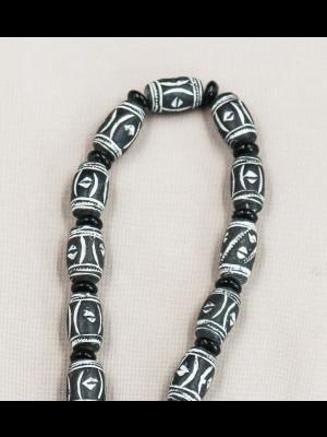 31 perles en terre cuite (Mali)
