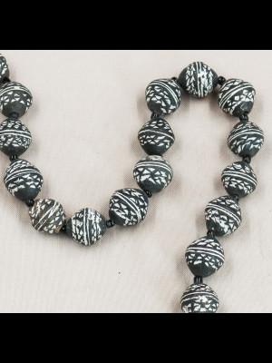 30 perles en terre cuite (Mali)