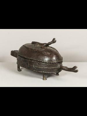 Boite en bronze (Mali)