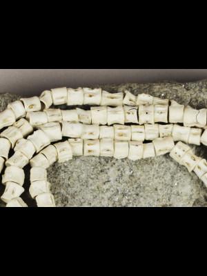 134 perles vertèbres de poisson