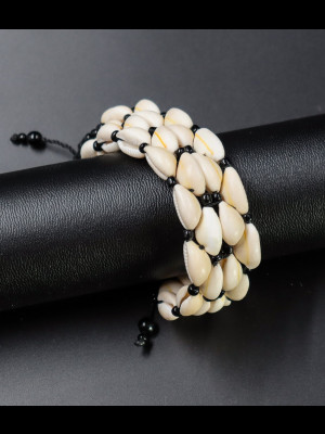 Bracelet en cauris
