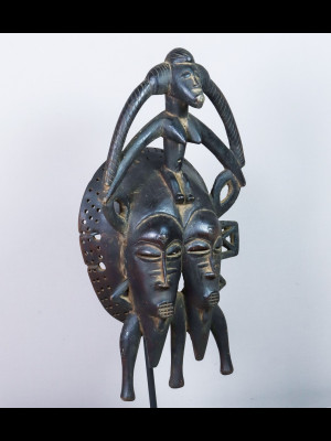 Magnifique masque sénoufo (Mali)