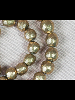 35 perles en laiton