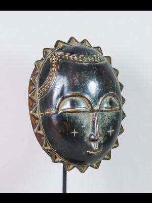 Masque lune baoulé (Côte d'Ivoire)