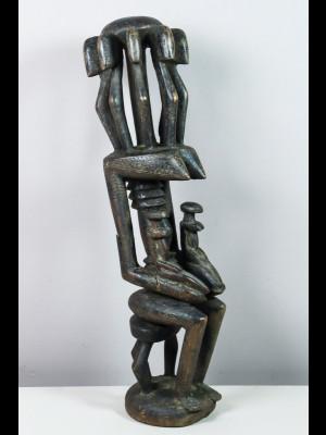 Étonnante statue dogon (Mali)