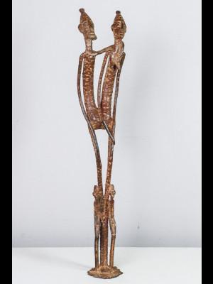 Pendentif gan en bronze (Burkina Faso)