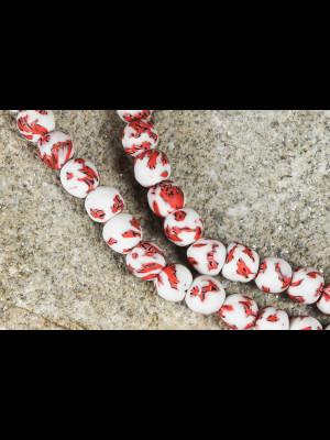48 perles du Ghana en verre
