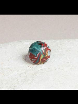 Rare et superbe perle islamique ancienne en verre