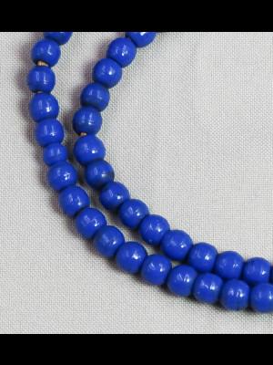 Collier 4 rangs de perles en koffi, verre et cornaline